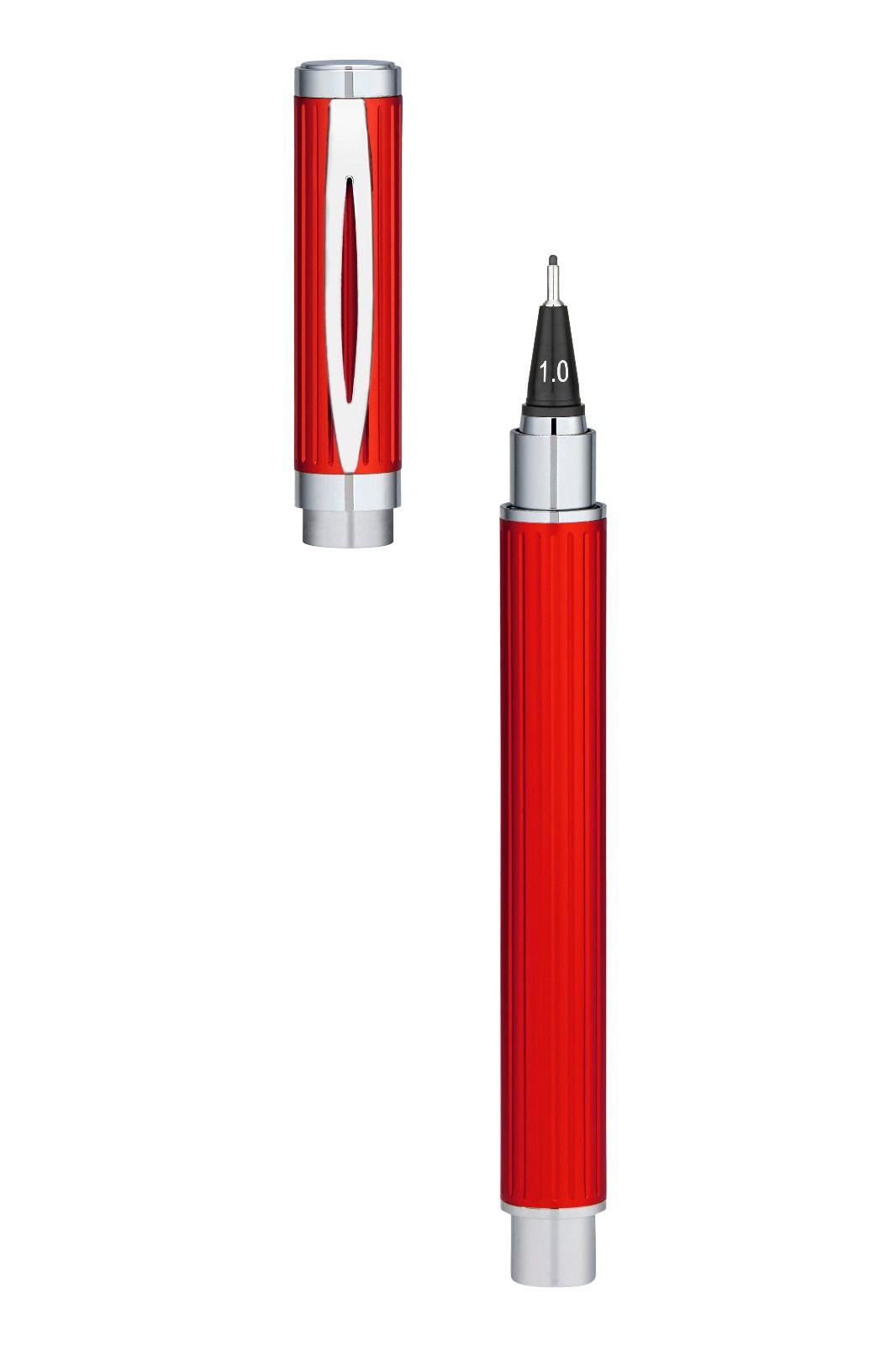 Yookers Fiberpen Eros vermelha C/ Conversor De Tinta.