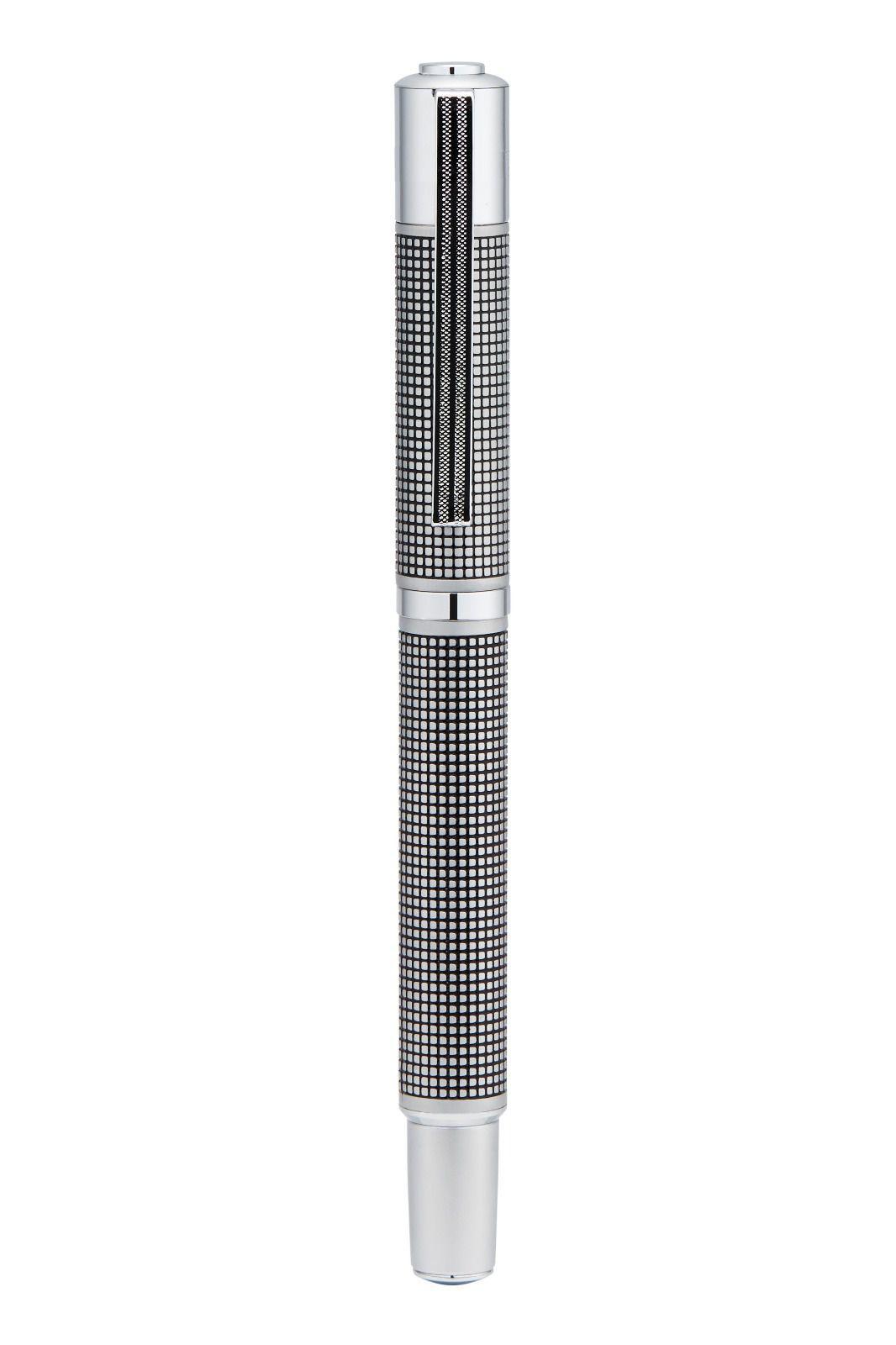 Yookers Fiberpen Metis cromada quadriculada C/ Conversor De Tinta.