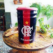 Banqueta Tambor Flamengo