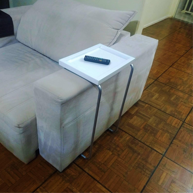 Bandeja Lateral Porta copo e notebook Sofá