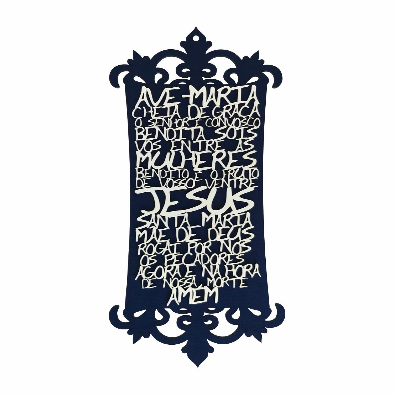 Quadro decorativo Oração GRANDE