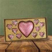 Caixa Dourada Coração 10 -150 g