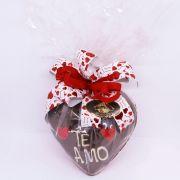 Presente de Coração Chocolate Belga ao Leite 280g