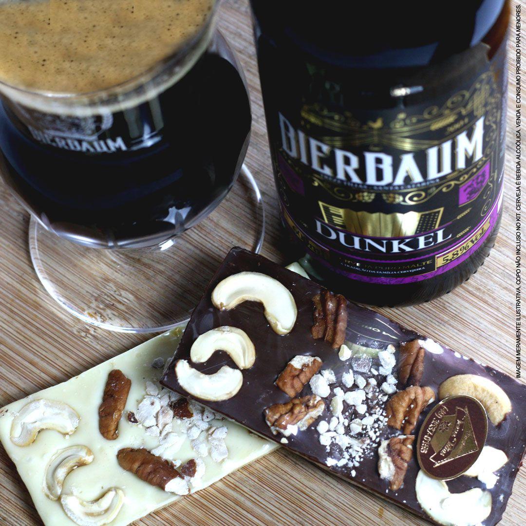 Barras de Chocolate com Cerveja Bierbaum 600ml