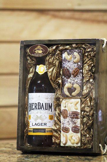 Barras de Chocolate com Cerveja Bierbaum Lager 600ml