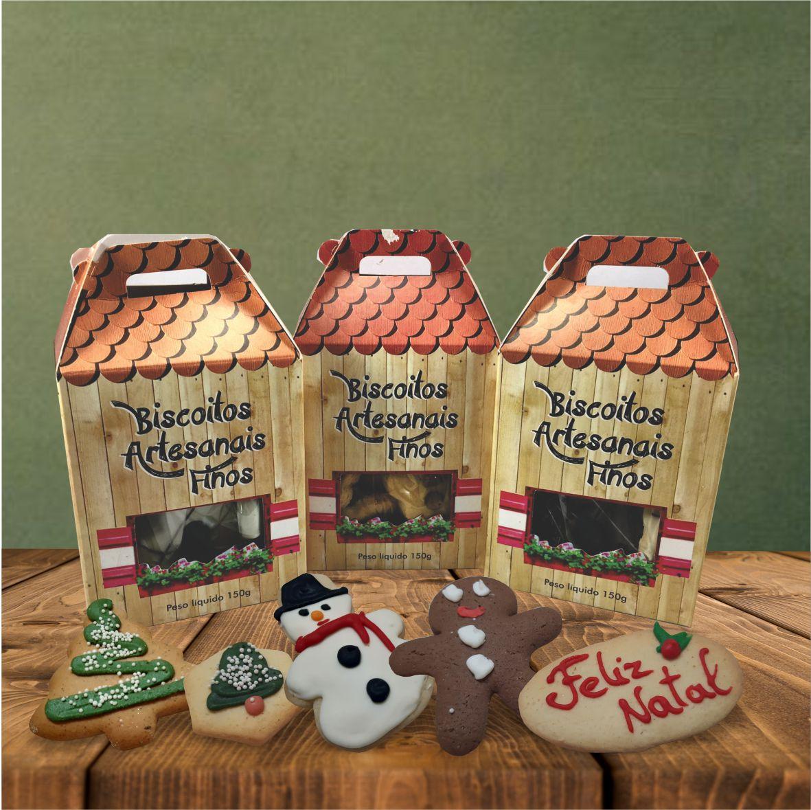 Biscoito Natal Caixa 150g