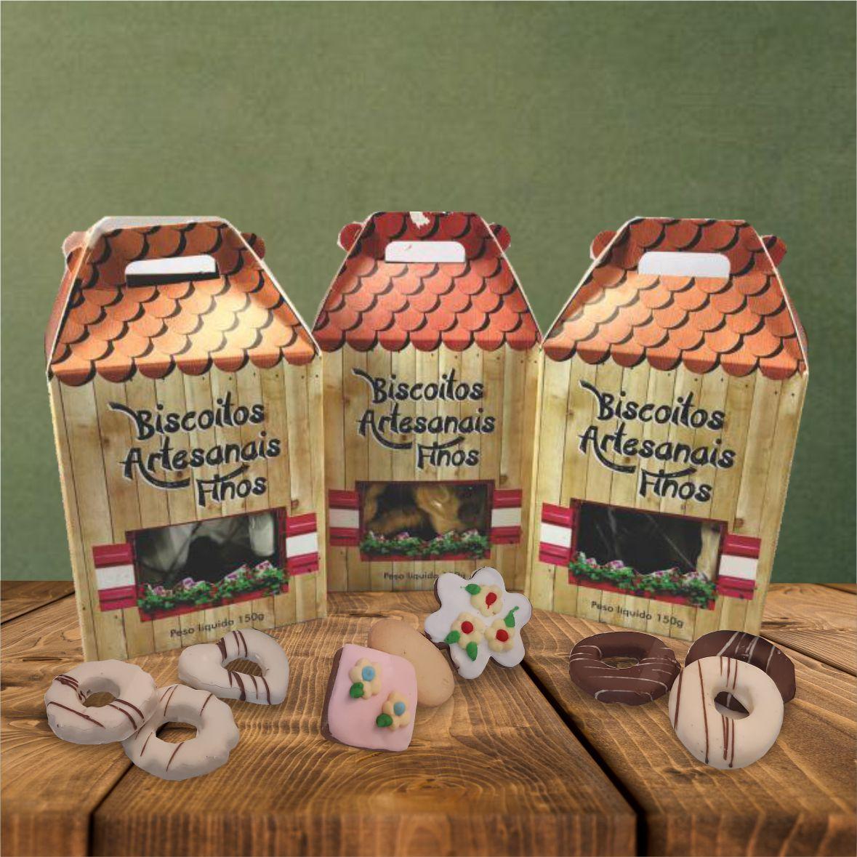 Caixa de Biscoito 150 g
