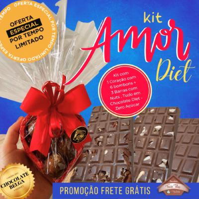 Kit Amor Diet - Zero Açúcar - 515g