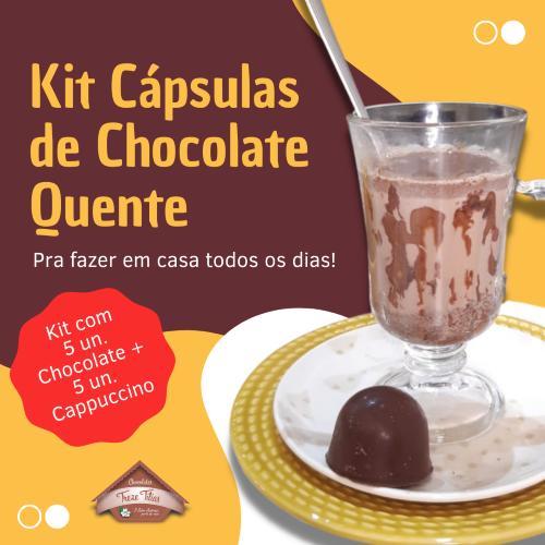 Kit Cápsulas de Chocolate Quente