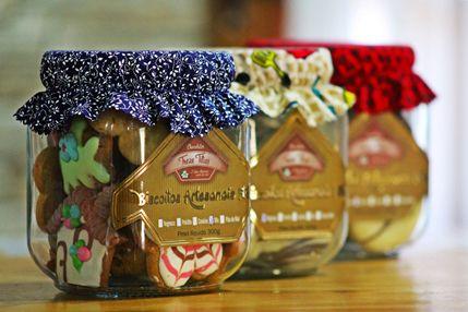 Mix de biscoitos sortidos, amanteigados e decorados!