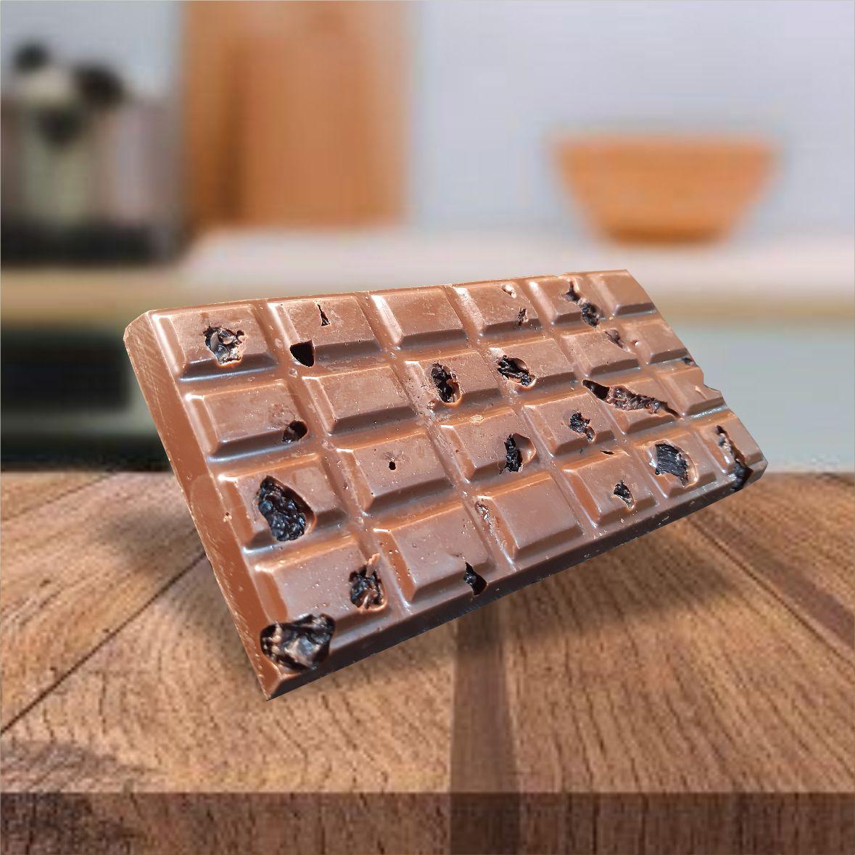 PROMOÇÃO - Coração trufado 285g + 3 barras de Chocolate ao Leite Belga com Nuts 120g cada - FRETE GRÁTIS