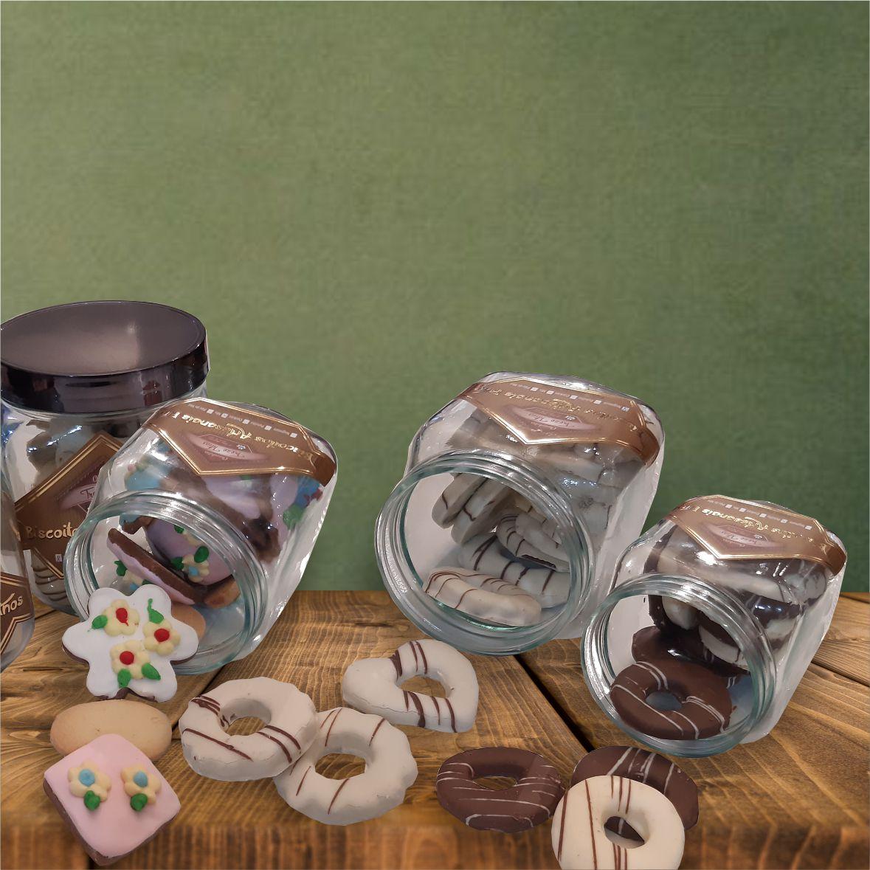 Vidros de Biscoitos - 300 g
