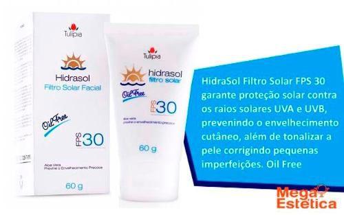Hidrasol Filtro Solar Fps 30 Tulípia