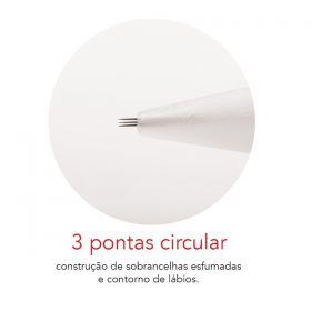 AGULHA ROSCA 3 PONTAS UN - MAG