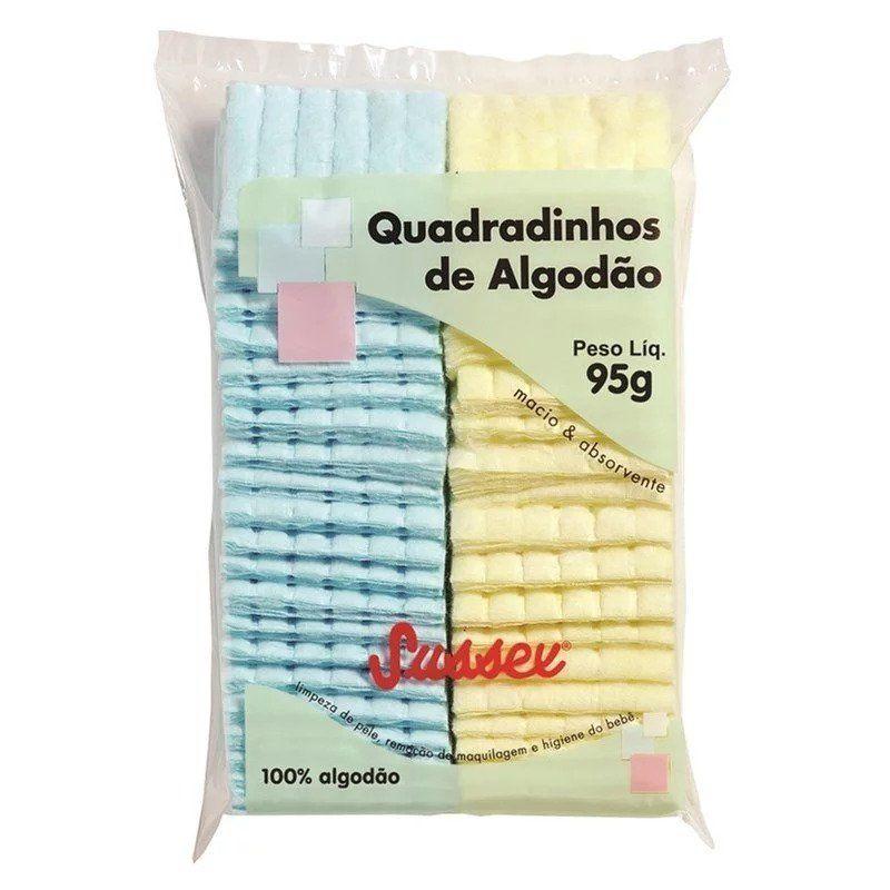 ALGODÃO QUADRADINHO COLORIDO 95 GR - SUSSEX