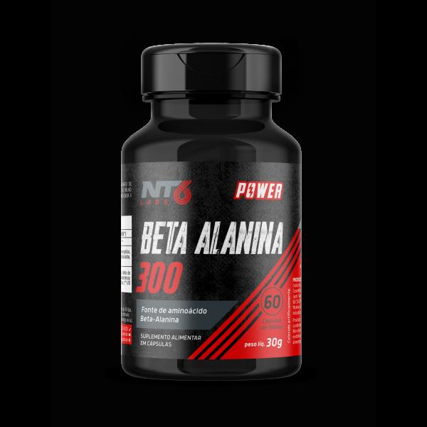 BETA ALANINA 300 - 60 CAPSULAS NUTRASIX