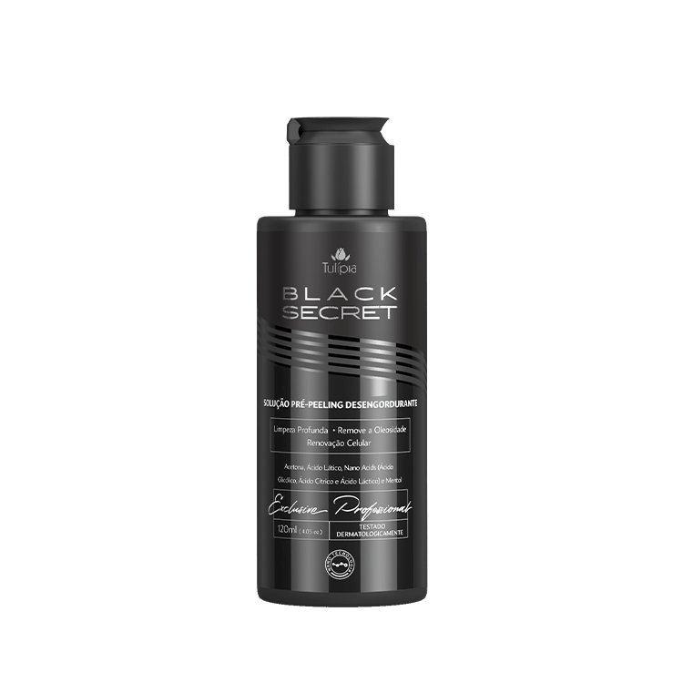 BLACK SECRET SOLUCAO PRE PEELING DESERGORDURANTE 120ML