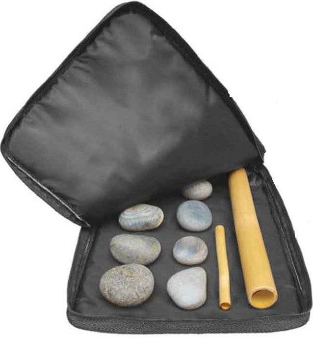 Bolsa/Maleta Aquecedora De Pedras Quentes Térmica 110v