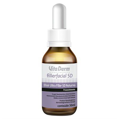Elixir Ultra Filler Facial 5D Noturno 30ml