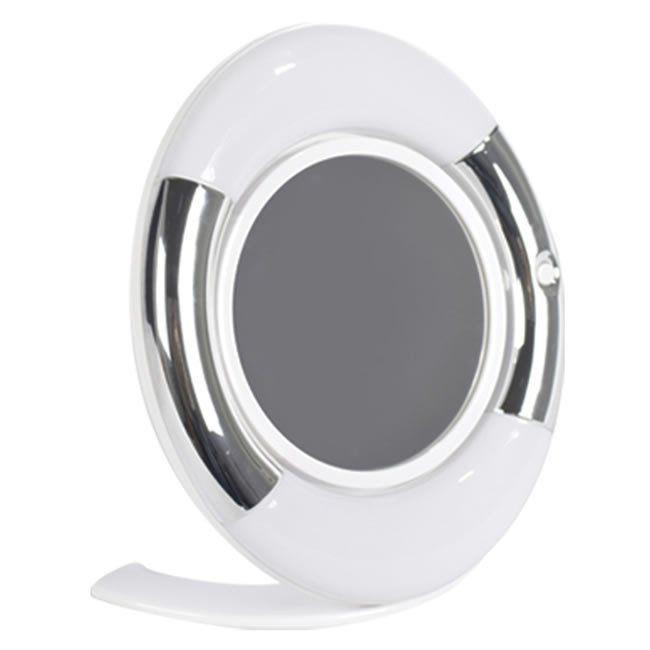 Espelho Dupla Face Oval c/ Luz LED