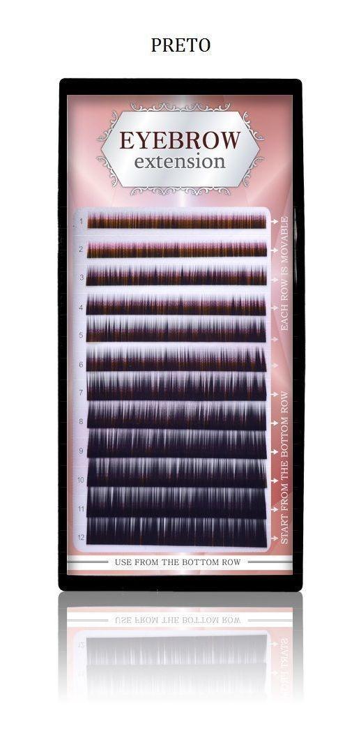 FIO PARA MEGA HAIR SOBRANCELHA - BLACK (PRETO)