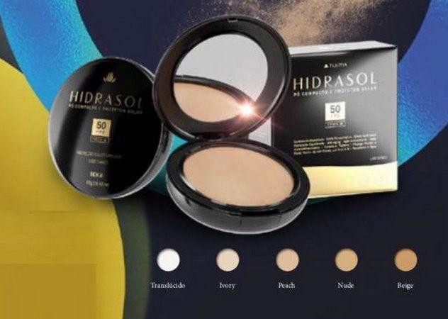 HIDRASOL PO COMPACTO 12G PEACH