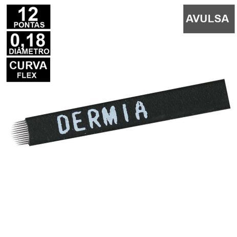 LAMINA DERMIA 12 CURVA FLEX 0.18