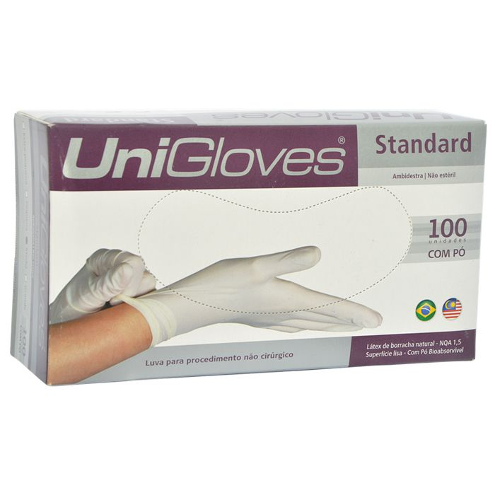 LUVA UNIGLOVES STANDARD P COM PO