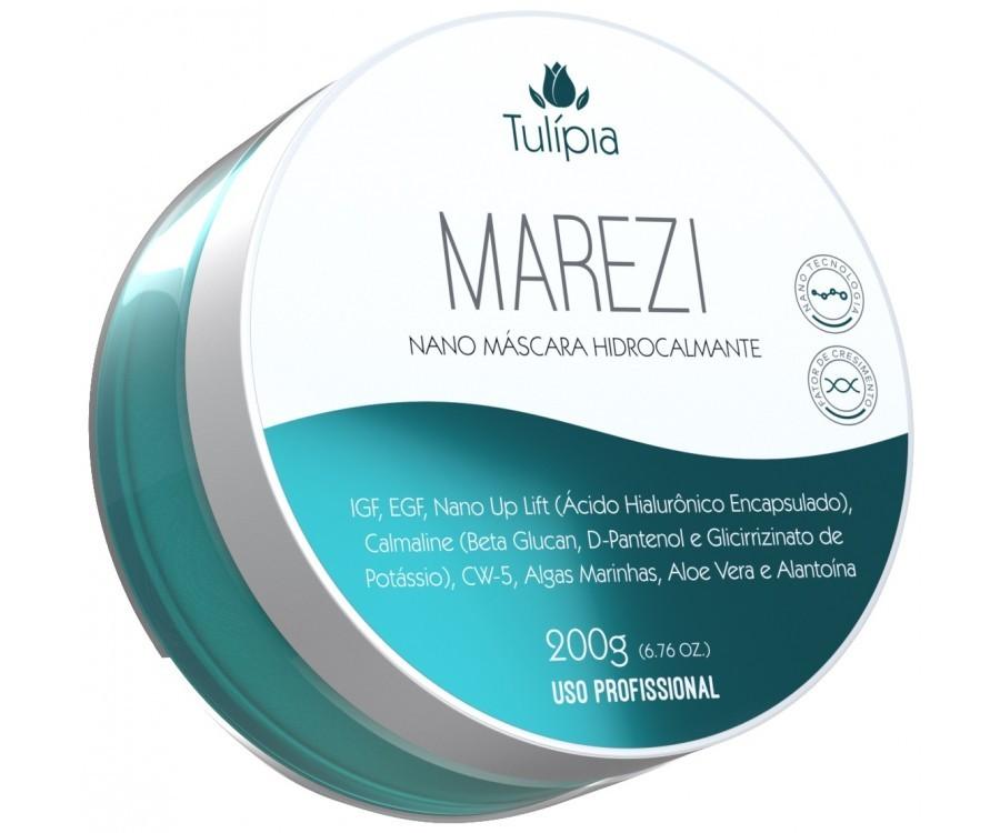 MAREZI NANO MASCARA HIDROCALMANTE 200G - TULIPIA