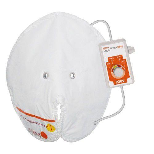 Máscara Térmica Facial c/ Infravermelho Longo e Controle de Temperatura - STYLLUS TERM