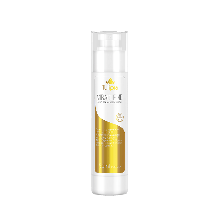 MIRACLE 4D NANO SERUM RESTAURADOR 50ML - TULÍPIA