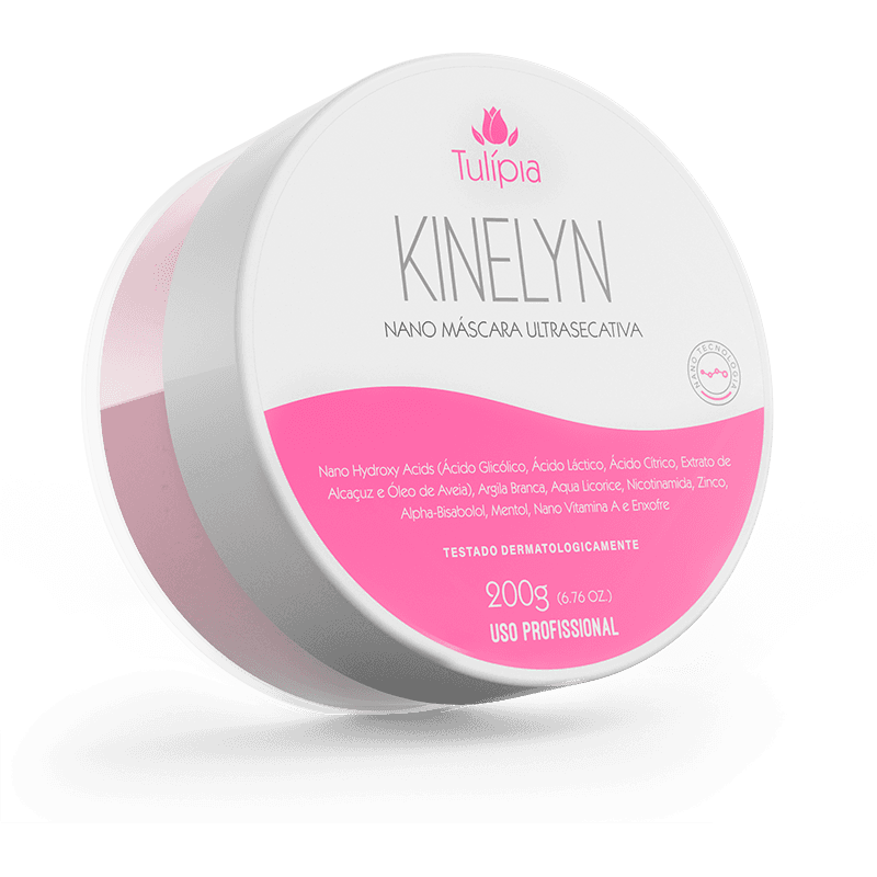 NANO MASCARA ULTRASECATIVA KINELYN 200G - TULIPIA