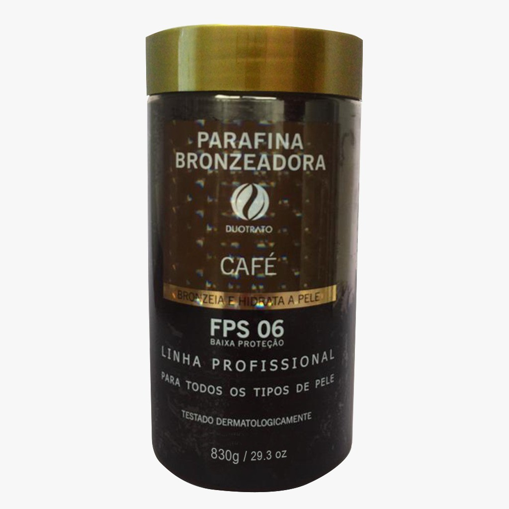 PARAFINA BRONZEADORA FPS 06 CAFE 830G