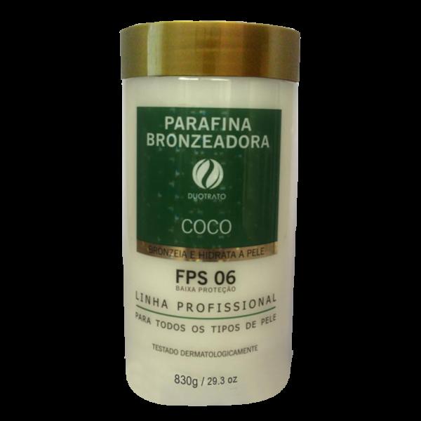 PARAFINA BRONZEADORA FPS 06 COCO 830G