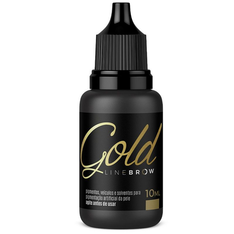 PIGMENTO MAG COLOR GOLD LINE BROW NEGRITO - 10 ML
