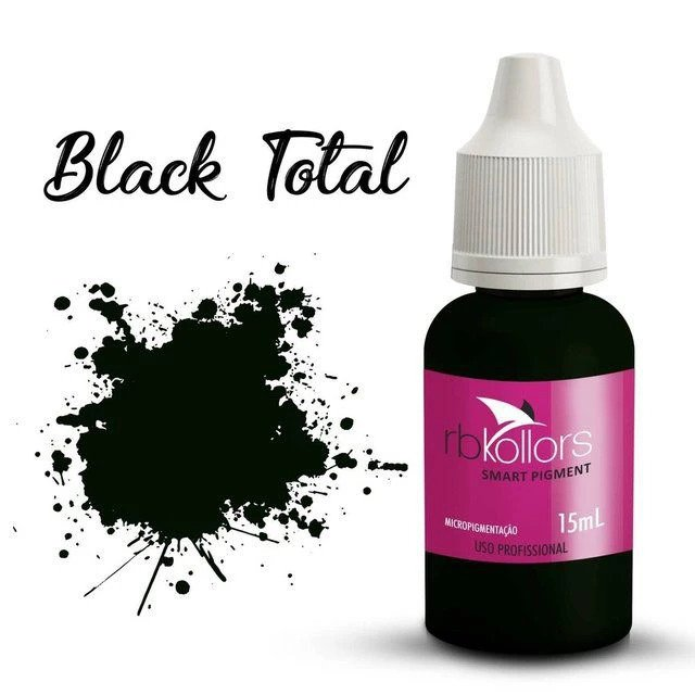 PIGMENTO RB KOLLORS TOTAL BLACK 15ML