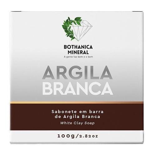 SABONETE ARGILA BRANCA BARRA 100G