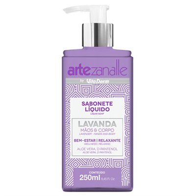 Sabonete Líquido Lavanda 250ml
