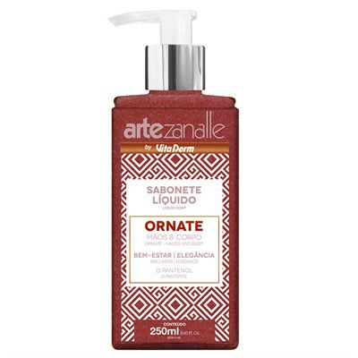 SABONETE LIQUIDO ORNATE ARTEZANALLE 250ML