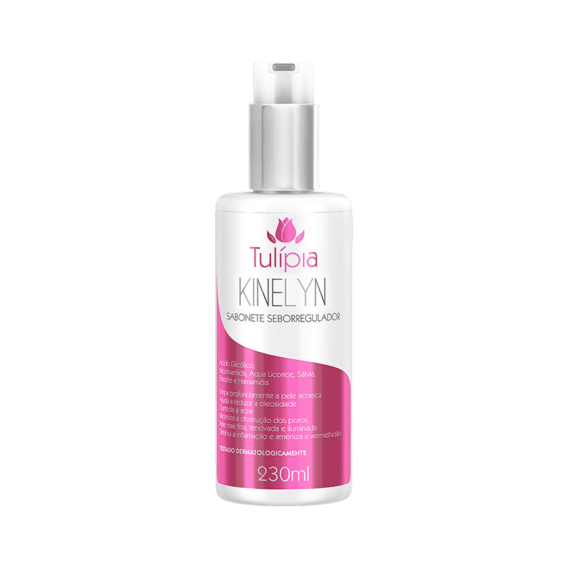 SABONETE SEBORREGULADOR KINELYN 230ML - TULIPIA