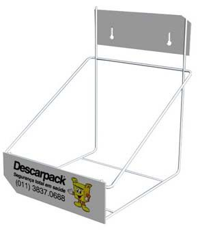 Suporte Para Coletor de Material Perfuro Cortante - Descarpack