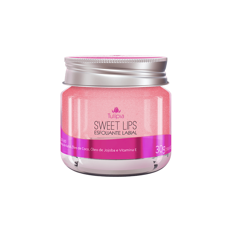 SWEET LIPS ESFOLIANTE LABIAL TUTTI FRUTTI 30G - TULIPIA