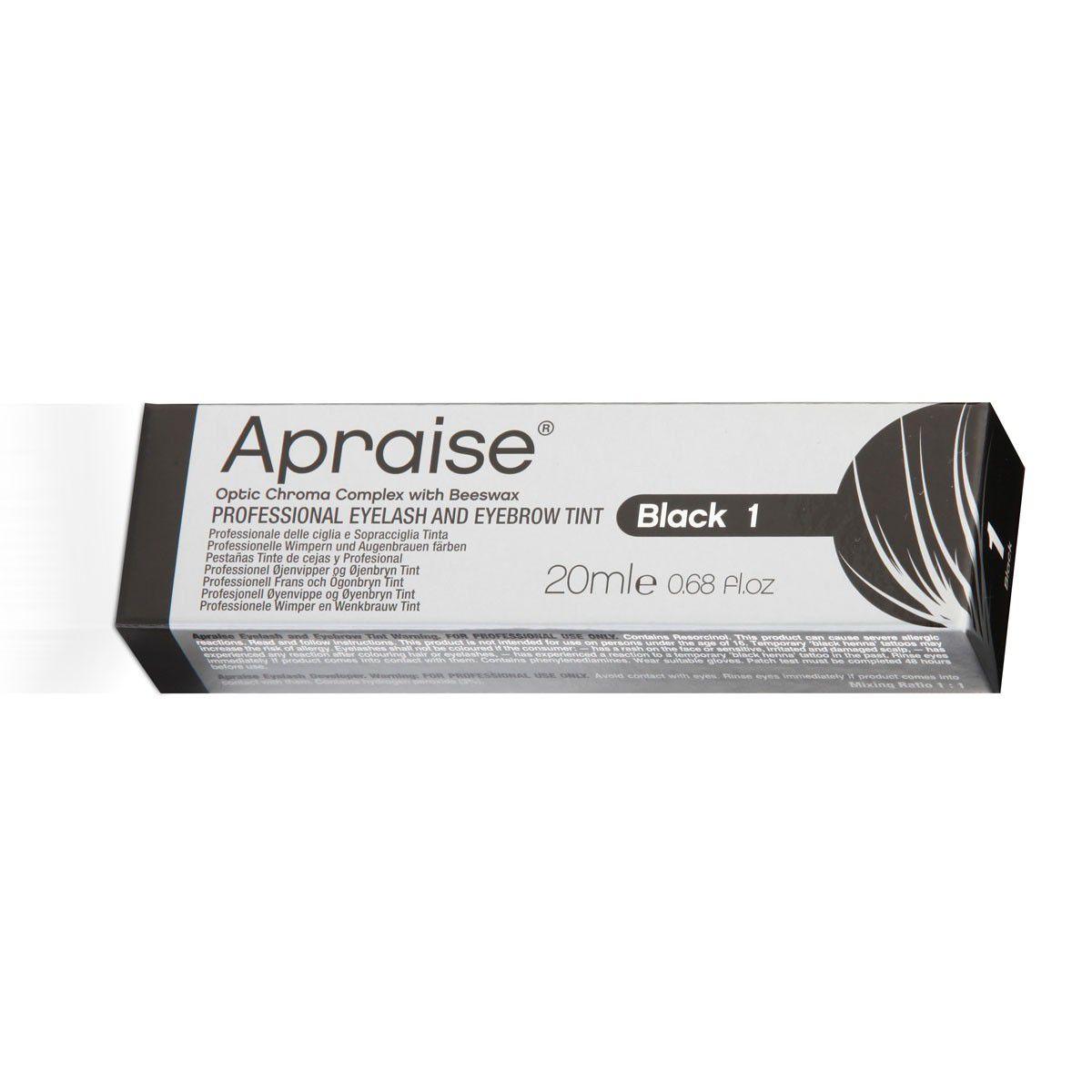 TINTURA CILIOS SOBRANCELHAS APRAISE BLACK