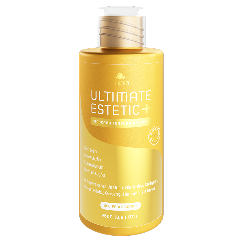 Ultimate Estetic+ Máscara Tensora Ouro 250g