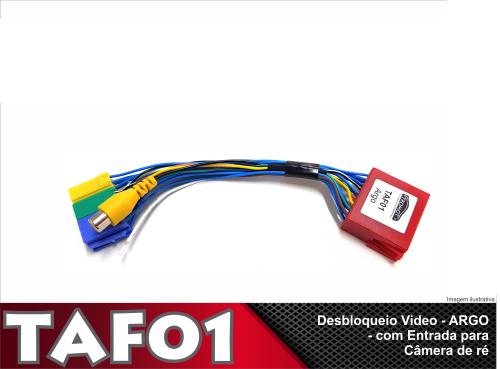 Desbloqueio de Vídeo Câmera Fiat Argo 2019