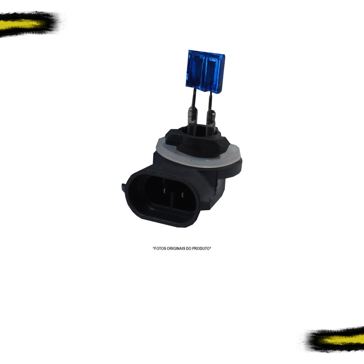 Kit Lâmpada Super Branca H27 Tech One 8500k