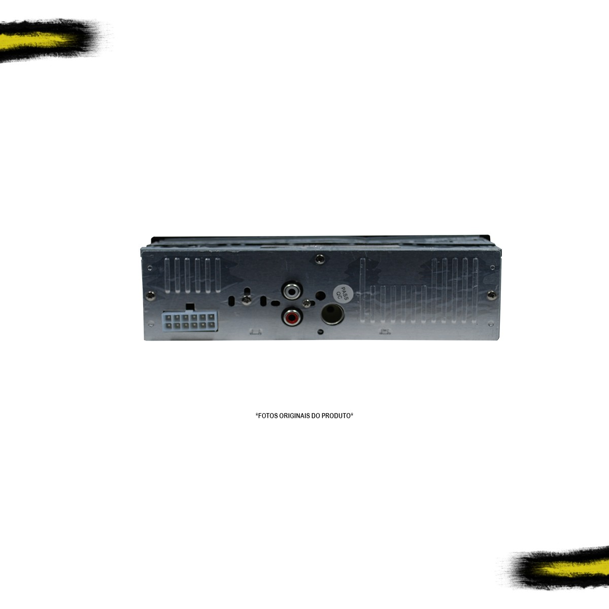 Kit MP3 Light E-Tech + 1 Par de Falantes 5 Pol + 1 Par de Falantes 6 Pol Bravox
