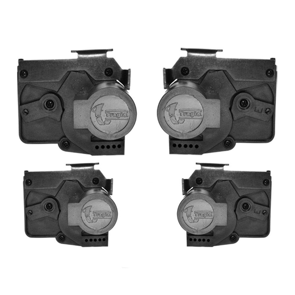 Kit Trava Elétrica Fox Gol Parati G4 4 portas - Valeo