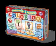 Conhecendo o Alfabeto Colorido + 5 anos - Embalagem 28 x 20 x 6 cm