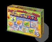 Jogo da Memória dos Bichos (Alfabeto de A à Z) + 3 anos